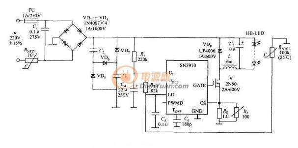 凹凸科技成熟LED电源三段调光方案