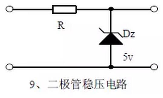 稳压二极管的特性曲线