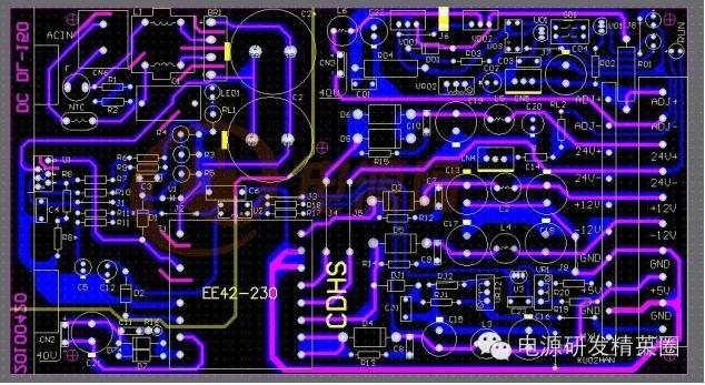 生活中实用电路pcb线路图