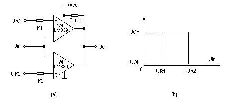 【图】几种电压比较器电路电源电路