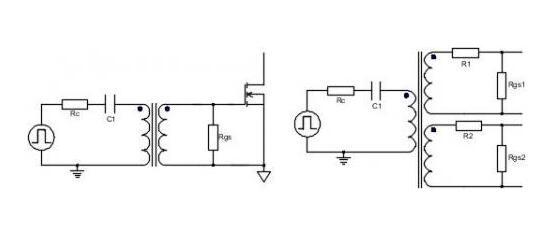 驱动变压器电路图