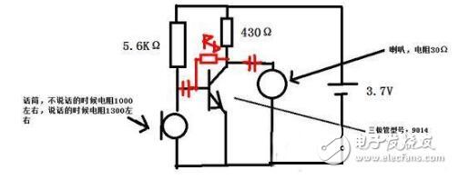 【图】利用一个三极管设计放大信号处理电路模拟电