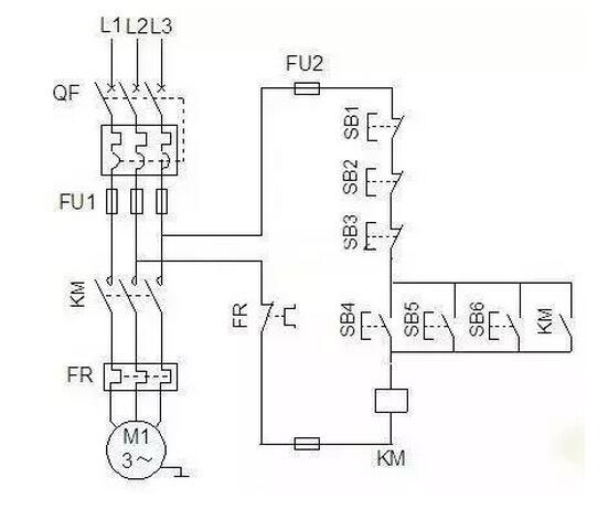 【图】电力拖动控制线路图大全控制电路