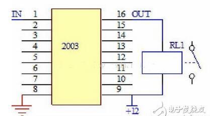 td62003ap应用电路图