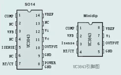 用uc3843设计的小功率开关电源--含电路分析