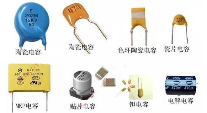 电容的电路符号及图片识别 基础电子 维库电子市场网
