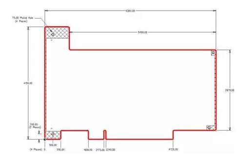 中所示的复杂电路板主要用于防爆外壳