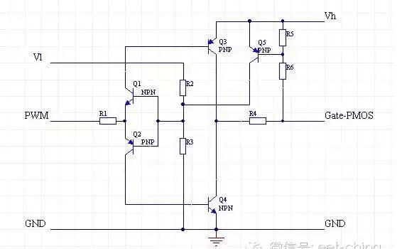 电路的工作电压低(以锂电池