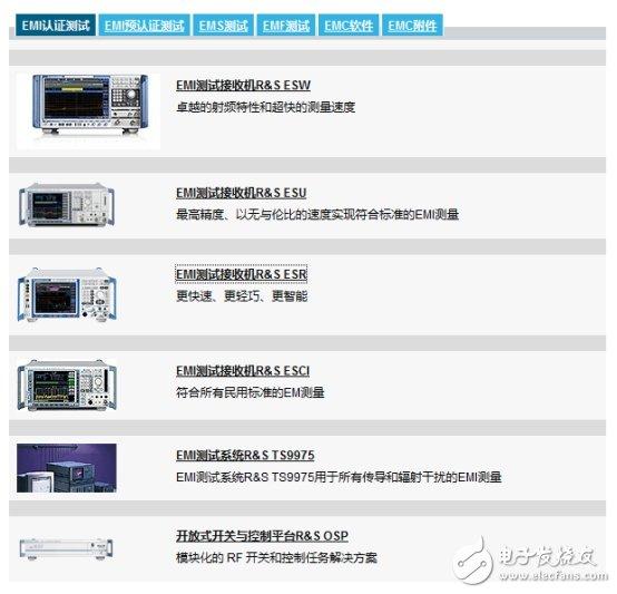 比较优秀的EMC测试方案,具体有哪些?