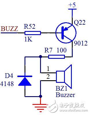单片机蜂鸣器控制程序和驱动电路典型设计案例