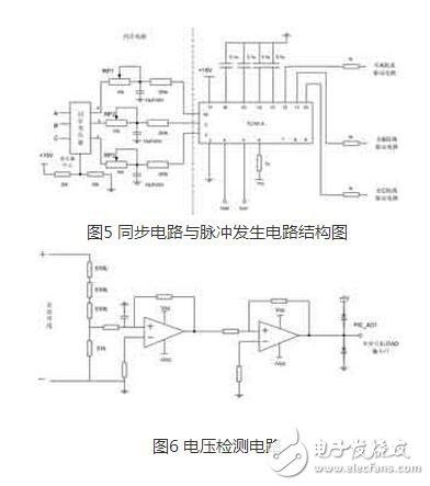 设计直流母线电压检测电路时采用了分压电阻的方法