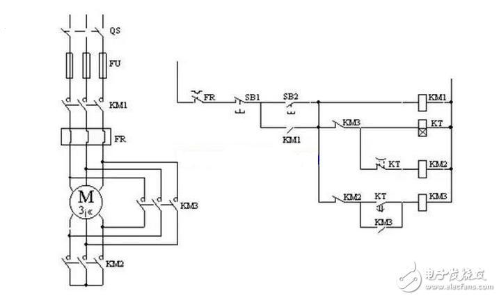 控制耦变压器降压线路设计和工作原理及其原理图