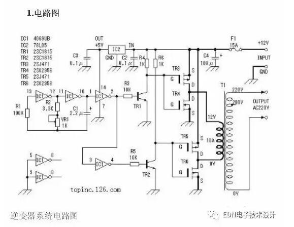 详解逆变器电路工作原理