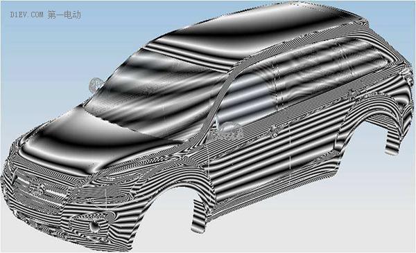 2.总布置设计 总布置设计是造型设计的基础,总布置设计确定了车辆的主要尺寸和基本形状,为造型设计师的构思和发挥规定了设计硬点,以便形态创意设计时可以有的放矢。 总布置设计通过对整车设计的总体规划来确定车身、底盘、动力总成等系统之间的配置关系、重量、法规和整车的性能指标。目前的总布置设计大都采用数字化的三维设计。低速电动车企业可以在现有成熟的总体布置基础上进行适当的变动和局部改进,这样可以简化工作量,缩短开发周期。  3.