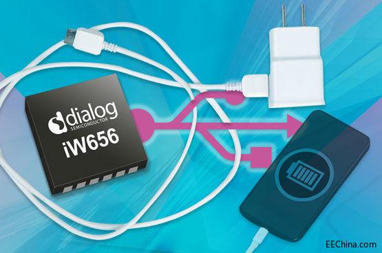 Dialog推出业内首款针对电源适配器优化的USB-PD接口IC