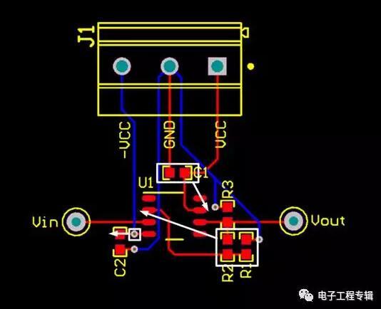 模拟运算电路pcb