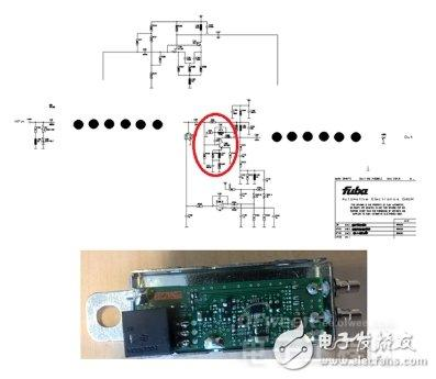 FM信号放大器电路图,及TV/TS信号放大器实物图-汽车天线系统结构 图片