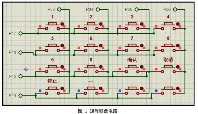 一种实用的单片机矩阵键盘设计