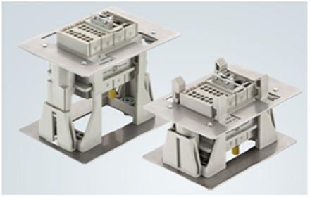 适用于电机控制中心的带测试位置对接连接器