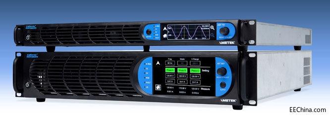 AMETEK程控电源部发布Asterion系列交直流电源的3kVA新型号