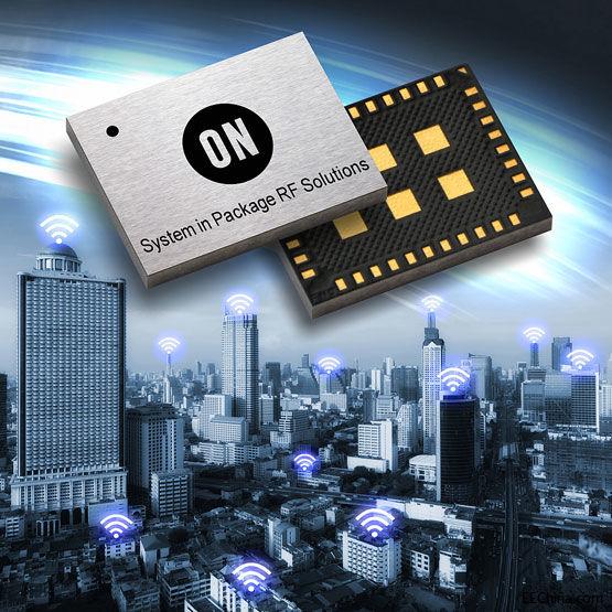 安森美推出世界最紧凑的Sigfox认证的方案,其首个RF系统级封装用于低功耗物联网设计
