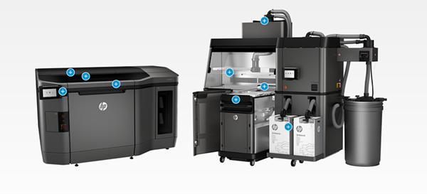 惠普与捷豹等公司拓展3D打印业务