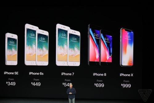 """华强北版""""苹果iPhone X""""已开卖:颜色齐全 仅售千元"""