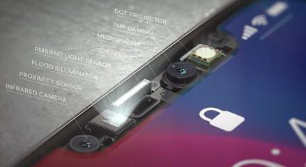 苹果迎利好消息 iPhone X面部识别关键芯片开始发货