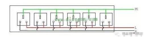 家用开关插座接线方法