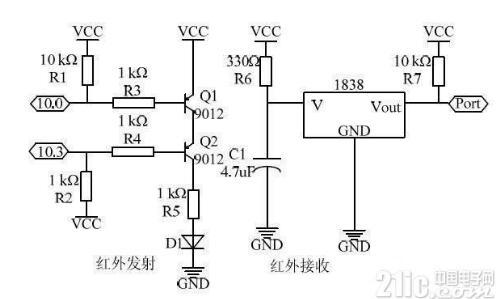 移动音乐机器人系统电路设计