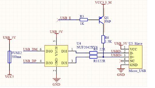 STM32 USB设备电路设计