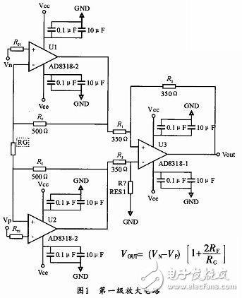 联而成的窄脉冲小信号运算放大电路图片