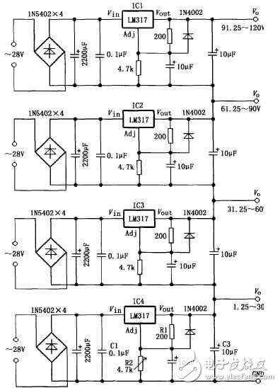 lm317制作简易电源电路设计