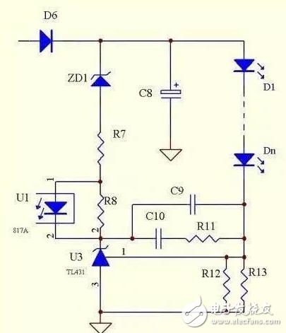 TL431驱动LED恒流控制电路方案