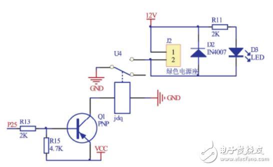 电磁锁模块电路