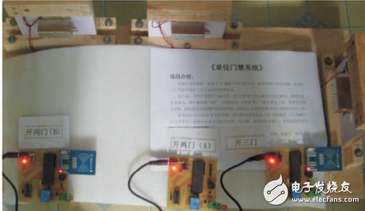 基于单片机和射频识别技术的门禁系统设计
