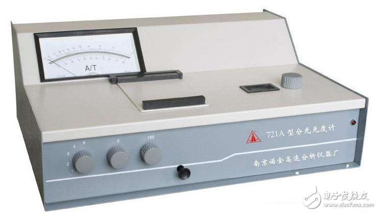 721型分光光度计应用及注意事项