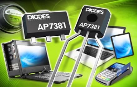 Diodes 公司推出输入电压范围宽广的超低静态电流稳压器,涵盖 5V、9V、12V 及 24V 电轨