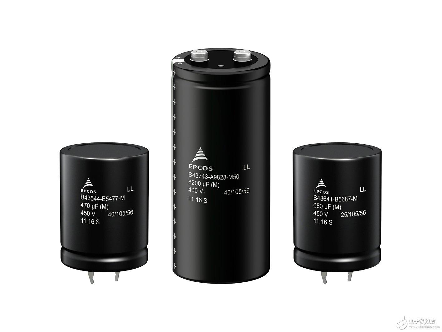 铝电解电容器 耐波纹电流性能更强且高度更低