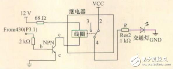 基于超声计数的智能交通灯控制系统