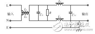 电源滤波器怎么接线_电源滤波器接线图