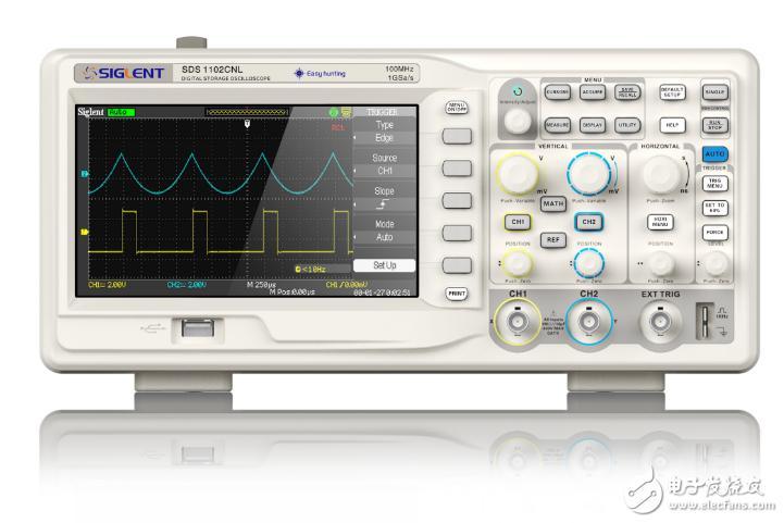 示波器测量交流电压方法