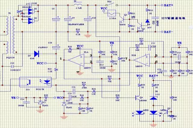 9个开关电源实际项目原理图,PCB,应用说明分析
