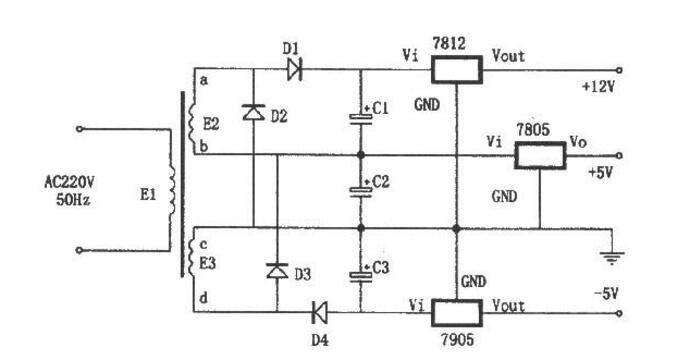 稳压电源电路图详解