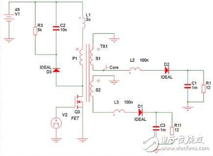 反激式电源:同步整流器如何减轻漏电感的影响?