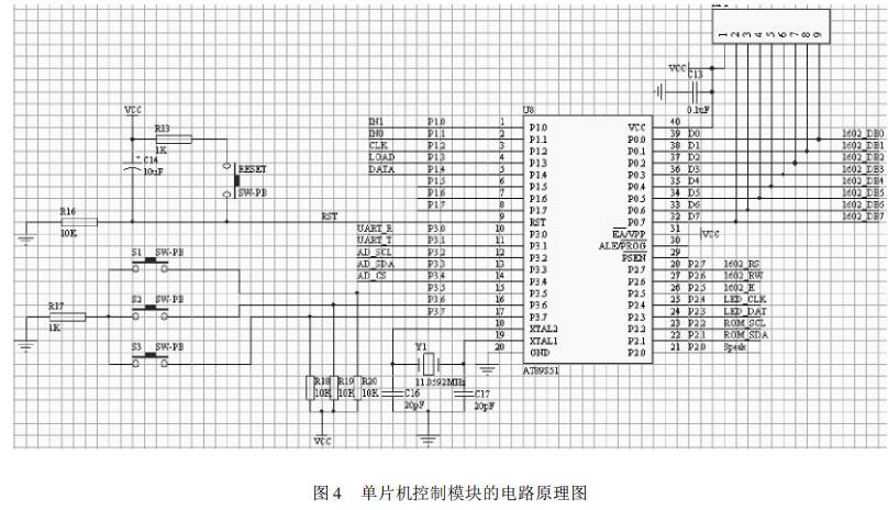 基于LM35的单片机温度采集显示系统