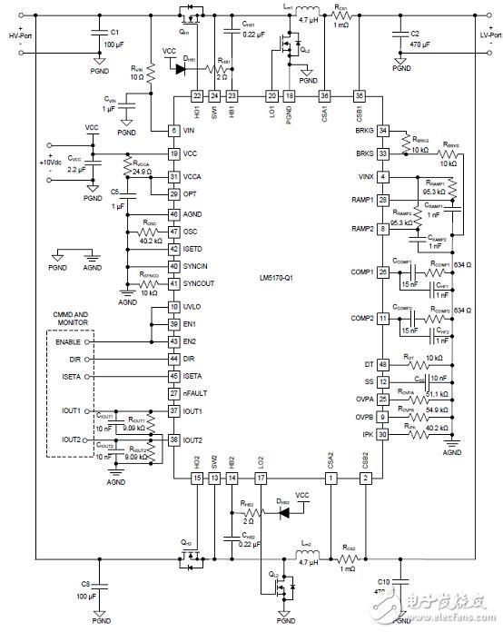 TI TIDA-01168双向汽车12V(48V)电源系统参考设计