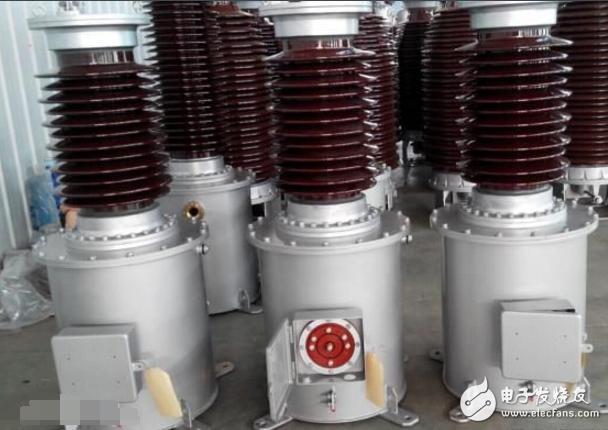 电容式电压互感器(cvt)是由串联电容器分压,再经电磁式互感器降压和图片