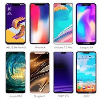 国产手机的刘海全面屏为啥加下巴?