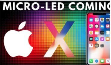 苹果攻MicroLED市场 全球显示产业格局将变